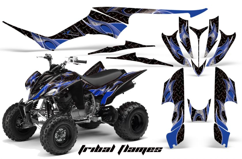AMR RACING GRAPHICS KIT YAMAHA RAPTOR 350 QUAD STICKERS